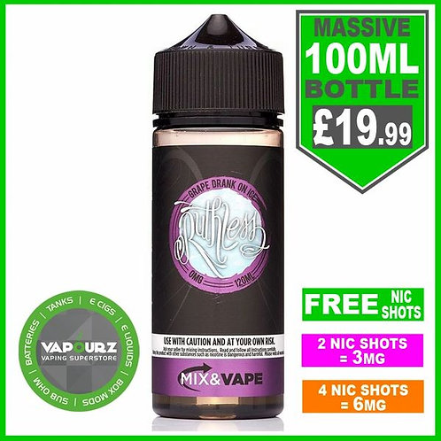 Grape Drank on ice Ruthless 100ml