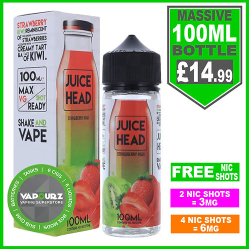 Strawberry Kiwi Juice Head 100ml