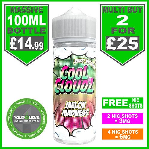 Melon Madness Cool Cloudz 100ml