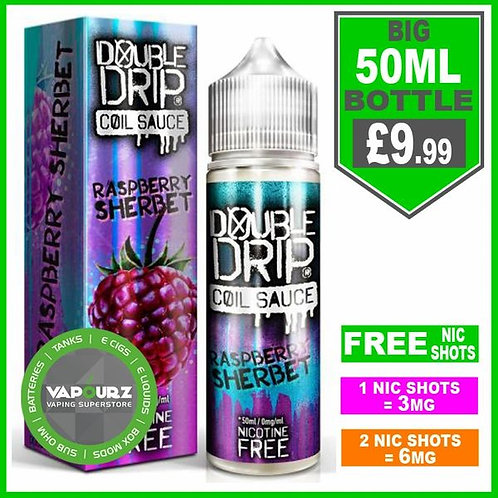 Raspberry Sherbet Double Drip 50ml