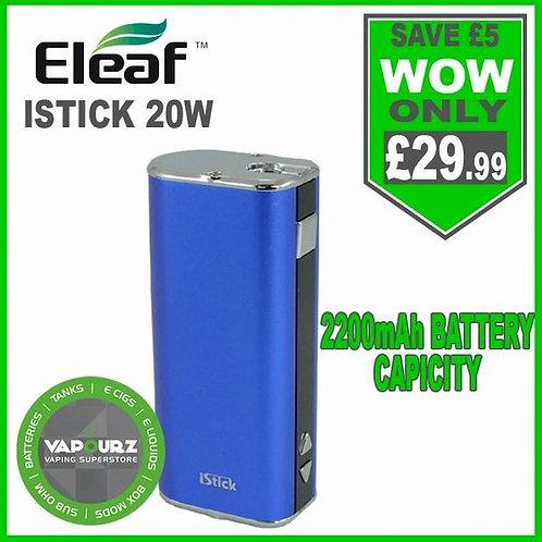 Eleaf Istick 20W Battery Mod Blue