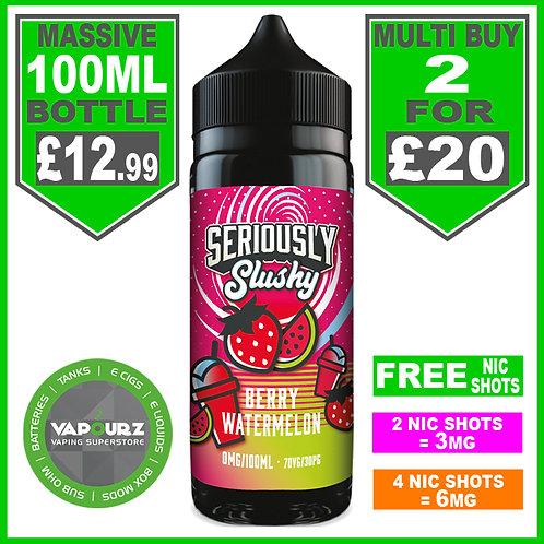 Berry Watermelon Seriously Slushy Doozy 100ml