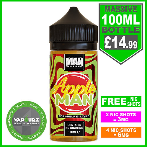 Apple Man One Hit Wonder 100ml