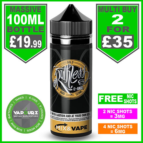 Gold Ruthless 100ml
