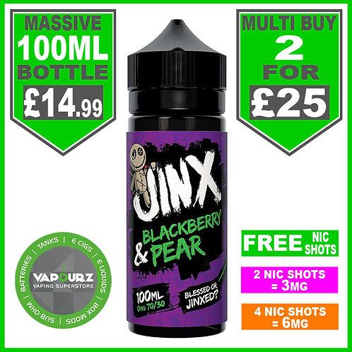 Jinx Blackberry & Pear 100ml