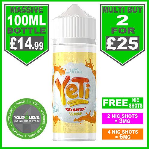 Orange Lemon Yeti 100ml