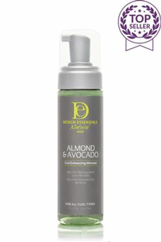 Design Essentials Almond & Avocado Curl Enhancing Mousse