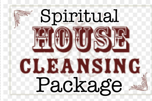 Spiritual house cleansing package