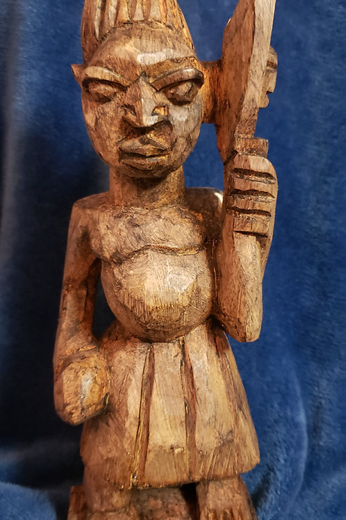 Hand carved Sàngó Statue