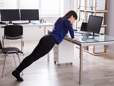 5 Of The Most Effective & Fun Ways To Exercise At Work