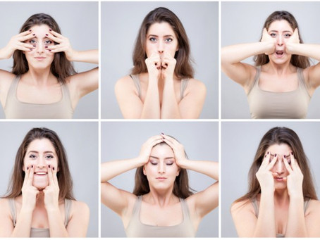 5 Awesome Facial Exercises For A Slimmer Face & Defined Jawline