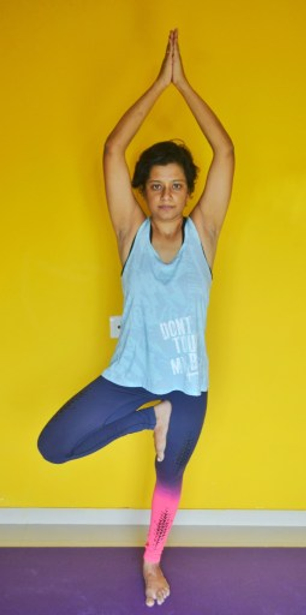 yoga for pregnant women yoga teacher paramita singh in tree pose