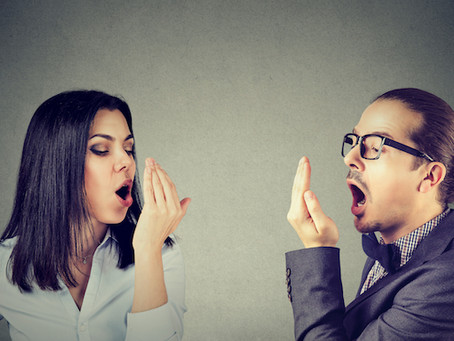 Bad Breath Is A Huge Turn-Off And An Unpleasant Experience
