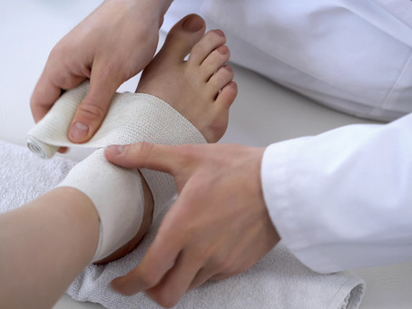 Sprain First Aid, Its Symptoms And The Risk Factors