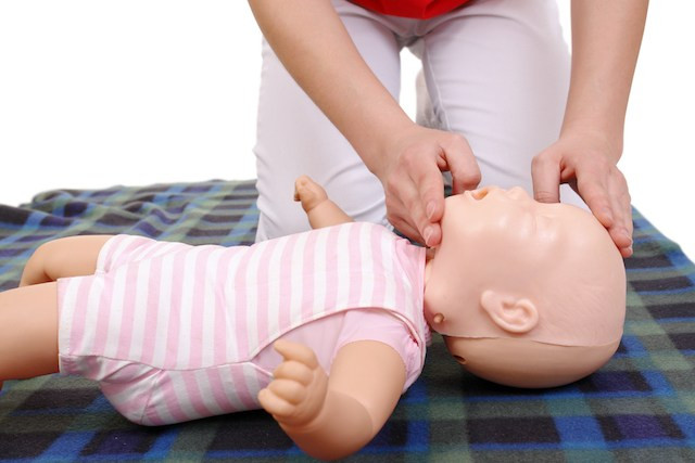 Infant CPR Training Step Wise Tutorial