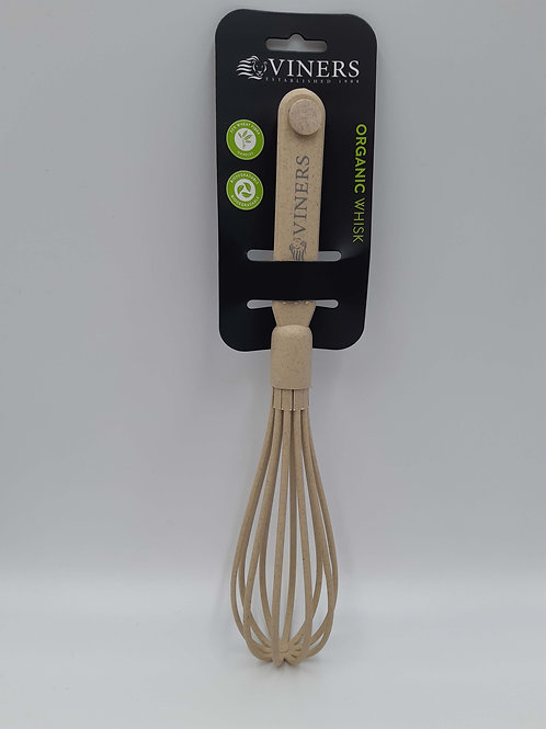 Viners Whisk Organic Natural Wheat Fibre