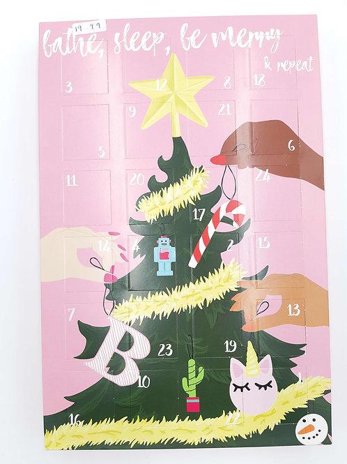Advent Calendar (Bomb Cosmetics Bathe, Sleep, Be Merry)