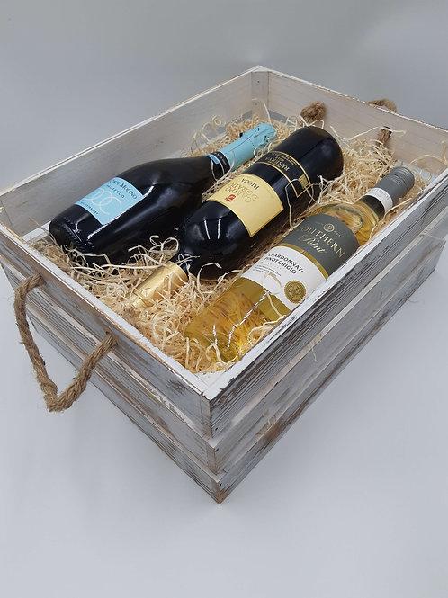 Triple Wine Bottle Crate