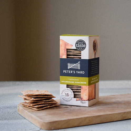 Peter's Yard Crackers - Caraway Sourdough 90g