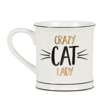 Sass & Belle Mug Crazy Cat Lady