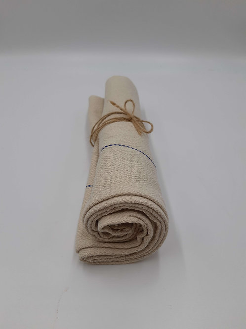 Oven Cloth Cotton Herringbone Weave Heat Resistant