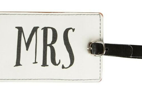 Sass & Belle Luggage Tag (Mrs)