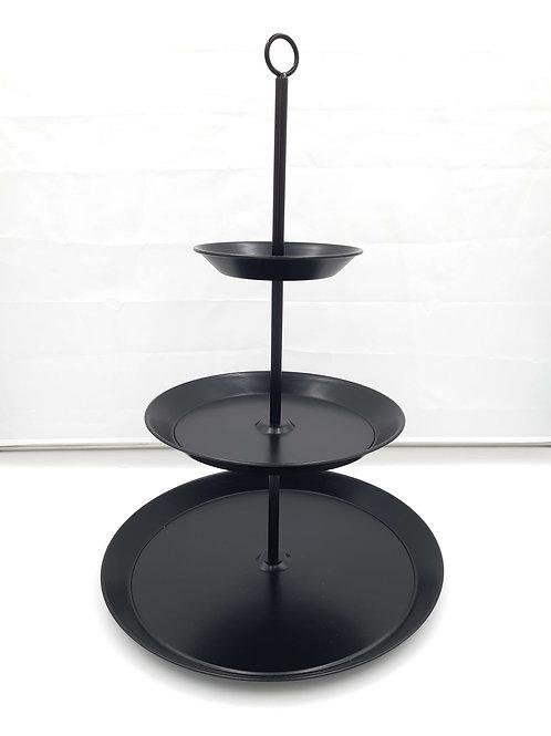 Cake stand 3 Tier (Black)