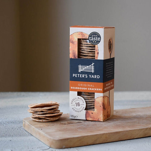 Peter's Yard Crackers - Original Sourdough 105g