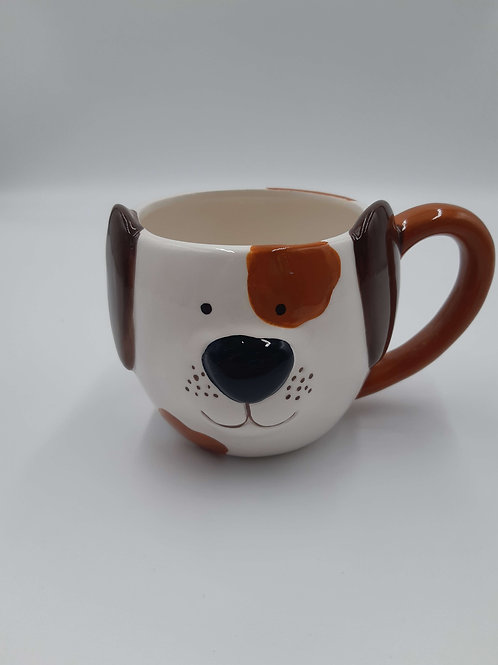 Price and Kensington Hand Painted Dog mug