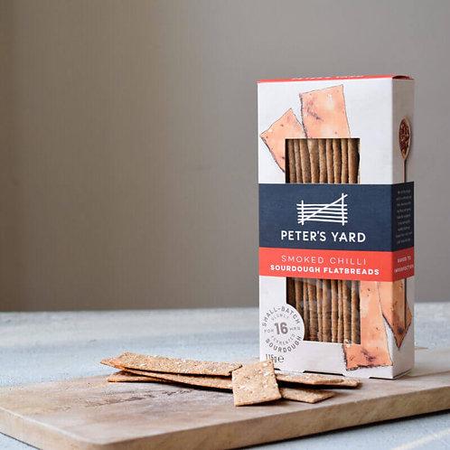 Peter's Yard Flatbread - Smoked Chilli Sourdough