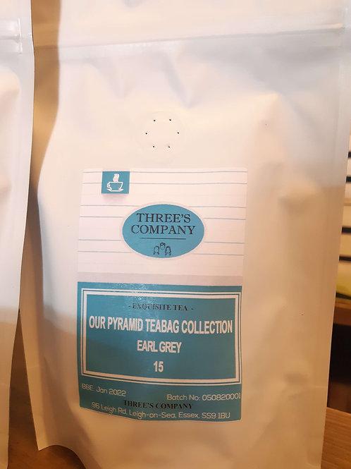 Three's Company Tea (Earl Grey) - Herbert & Ward - 15Bags