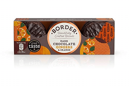 Border Biscuits (Border) - Chocolate Ginger (9 Pack)