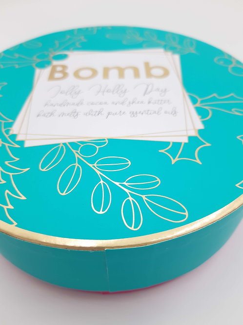 Bomb Cosmetics Jolly Holly Day Creamer Giftpack