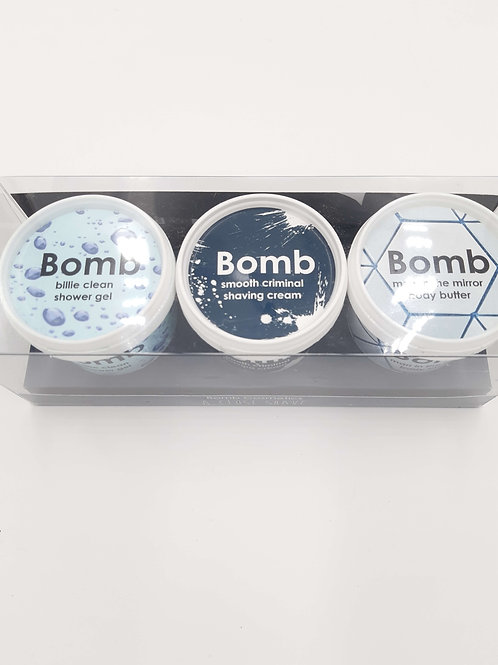 Bomb Cosmetics Close Shave (Triple Set)