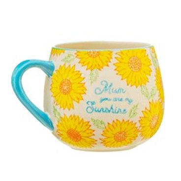 Sass & Belle Mug Sunflower Mum Blue