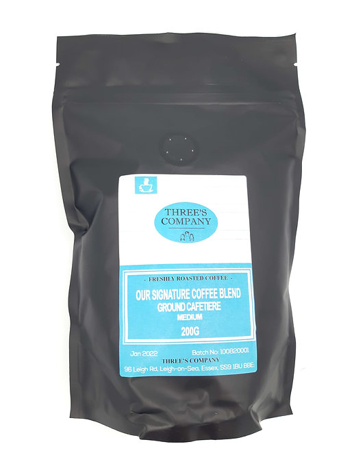 Three's Company Coffee Cafetiere (200g)