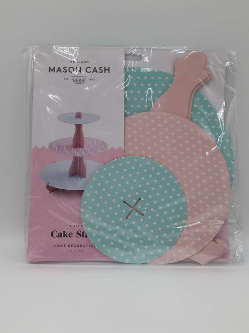 Mason Cash Creative Baking Polka Dot 3 Tier Cupcake Stand