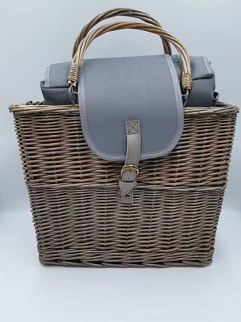 Basket Picnic Chiller With Blanket