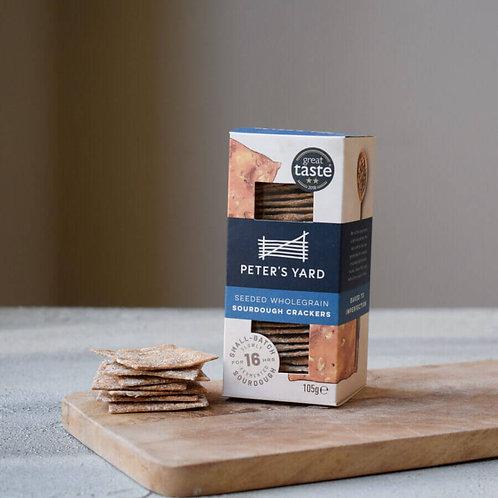Peter's Yard Crackers - Seeded Wholegrain Sourdough 105g