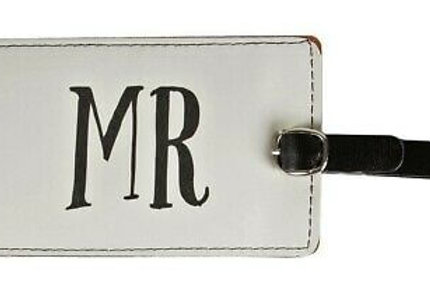 Sass & Belle Luggage Tag (Mr)
