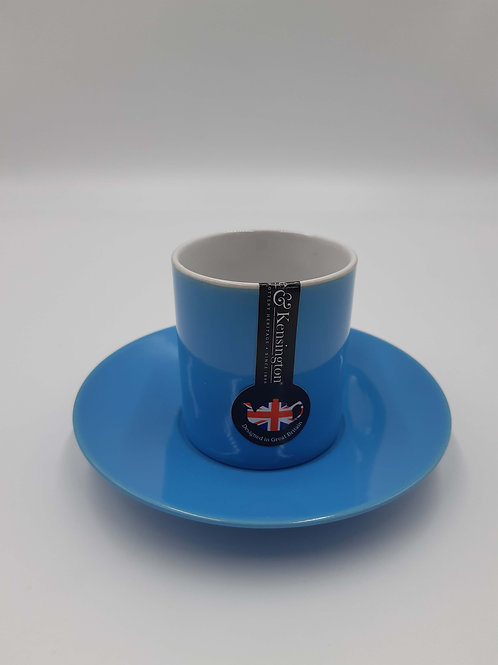 Price and Kensington Cup and Saucer Espresso (Blue)