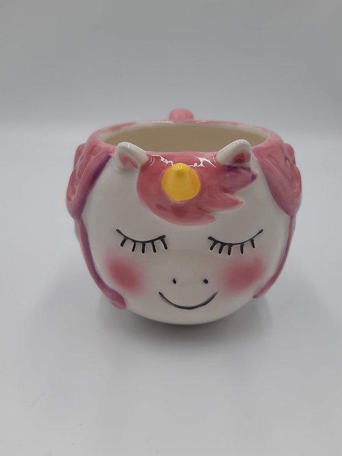 Price and Kensington Hand Painted Unicorn mug