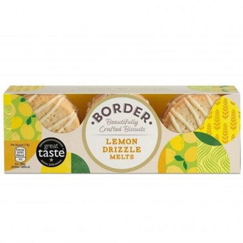 Border Biscuits (Border) - Lemon Drizzle Melts (9 Pack)