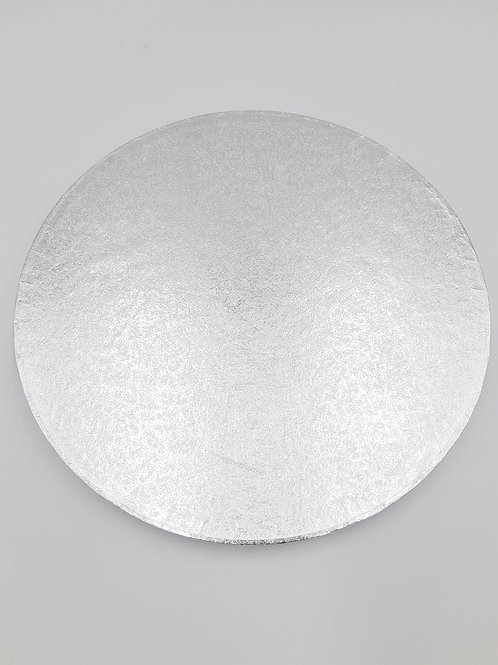 Cake Craft Cake Board Silver round 11""