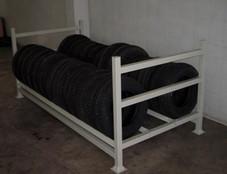 Rack para pneu