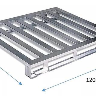 Pallet em aluminio