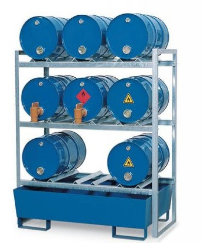 Porta tambor 200 litros