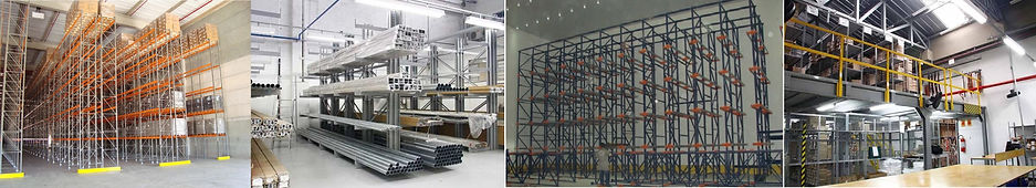 Estruturas metálicas para palete