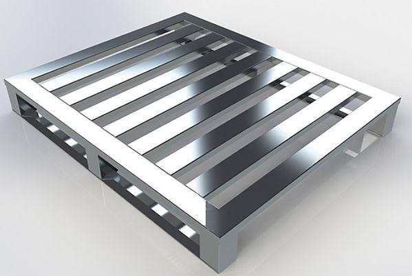 Palete de aluminio