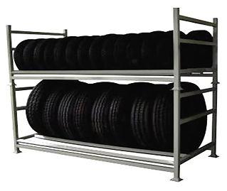 Rack porta pneu